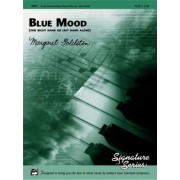 Blue Mood (for Right Hand or Left Hand Alone) by Margaret Goldston
