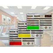 Sistema Completo RFID Controller con 2 relay Hardware / Software per Palestre, Club, Uffici, Circoli, etc...Software completo con controllo in background, messaggi vocali, storico accessi, database clienti