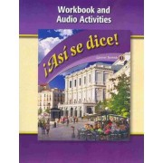 Asi Se Dice, Level 1, Workbook and Audio Activities by McGraw-Hill/Glencoe