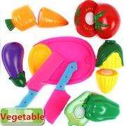 Edealing 2SET plástico Pretend Play Food Frutas Hortalizas Picnic Fare Nuevos
