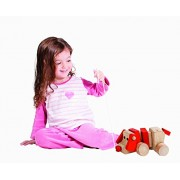 Playful Supper Cute Walk A Long Puppy Pull Toy