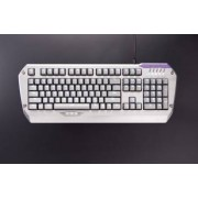 Tastatura Mecanica Gaming Tesoro Colada Saint G3NL Silver LED Aluminum Cherry MX