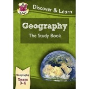 KS2 Discover & Learn: Geography - Study Book, Year 3 & 4 by CGP Books