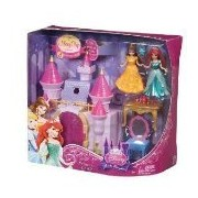 Disney Princess Little Kingdom Castle and Doll Set By Mattel by Disney