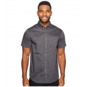 Billabong All Day Oxford Short Sleeve Woven Top Black