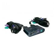Kettős átkapcsoló USB-vel (981059)
