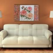 Quadro Rosas Colorido 70x100 cm - Uniart