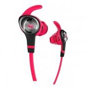 Casti Waterproof Monster Stereo Headset iSport Intensity (compatibil Apple iPod, iPad, iPhone) - Pink