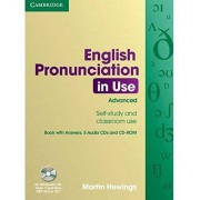 Martin Hewings English Pronunciation in Use Advanced with Answers, Audio CDs (4) and CD-ROM