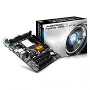 ASRock AM3+ N68-GS4 FX Scheda Madre, micro ATX, 2xD3 1866, SATA 2, USB 2, Nero