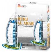 3D Puzzel - Burj Al Arab (17 stukjes)