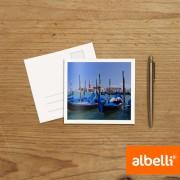 Foto Wenskaarten vierkant dubbel (11,5x11,5 cm) set van 12 stuks.