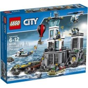 LEGO City Police Prison Island, Make Your Own Police Station, Comes With 754 Pieces by LEGO