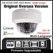 OEM DS-2CD2120F-I(2.8mm) HIKVISION English version IP camera security camera CCTV camera 2MP POE Onvif P2P H.264 IP67 outdoor