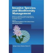 Invasive Species and Biodiversity Management by Odd Terje Sandlund
