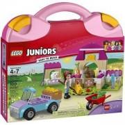Конструктор ЛЕГО Джуниърс - Фермерският куфар на Mia - LEGO Juniors, 10746