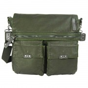 Licence 71195 Commuter OZ Messenger Bag Khaki LBF10821-KK