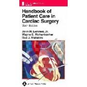 Handbook of Patient Care in Cardiac Surgery by John H. Lemmer