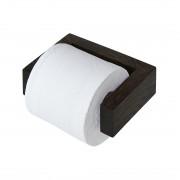 Toiletrolhouder Slimline - donker eiken, Wireworks