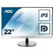"""AOC I2269vwm 21.5"""" Full Hd Ips Argento Monitor Piatto Per Pc 4038986122054 I2269vwm 10_0g30128"""