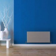 Seren ÉGALRAD Type 21 Double Panel Plus Designer Panel Radiator, Matt Silver (H)578 (W)1000mm