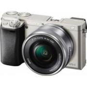 Aparat Foto Mirrorless Sony Alpha A6000 SEL 16-50mm Argintiu