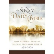 Daily Bible-NRSV: Read, Meditate, and Pray Through the Entire Bible in 365 Days, Hardcover