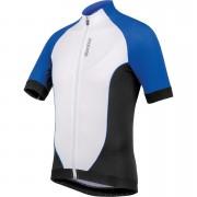 Santini Zero Impact 2.0 Short Sleeve Jersey - Blue/White - L