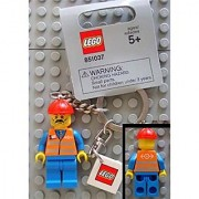 LEGO City - Train/Construction Worker Key Chain (851037)