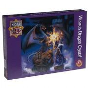 Wizard's Dragon Crystal: Master Pieces Round Puzzle