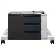 HP Color LaserJet papierinvoer en standaard voor 3 x 500 vel