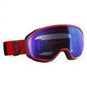 Ochelari Scott Fix fluo red/eclipse blue/illuminator blue chrome