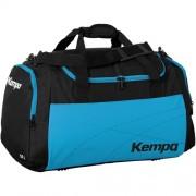 Kempa Sporttasche TEAMLINE - schwarz/kempablau | M