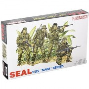 Dragon Models United States Navy SEAL Figure set Model Kit (1/35 Scale)