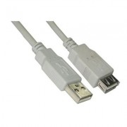 CABLE DE EXTENSION USB TIPO A-F 1 M