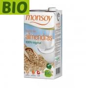 Lapte migdale Monsoy (fara gluten) BIO - 1 litru
