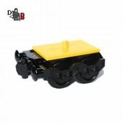 LEGO A medida Ciudad Tren motor duende 2 con almacenador intermediario & ruedas para carruajes 60051