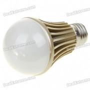 E27 5W 5 LED 420 Lumen 3500K chauffent lampe blanche (220V)