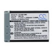 Canon Powershot G7X / NB-13L 1050mAh 3.89Wh Li-Ion 3.7V (Cameron Sino)