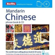 Berlitz: Mandarin Chinese Phrase Book & CD by Berlitz Publishing