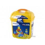 Miniland, jucărie pentru construcții,în cutie depozitoare (ML-94107)