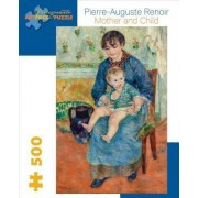 Renoir Mother and Child 500-Piece Jigsaw Puzzle Aa710 by Pierre-Auguste Renoir