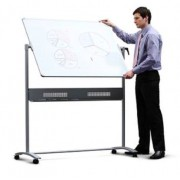 Whiteboard Steel Magnetic Mobile - Horizontal flip