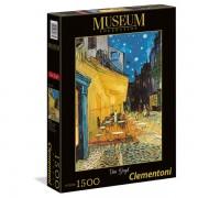 Puzzle 1500 piese muzeum van gogh caffe terrace at night clementoni 31667