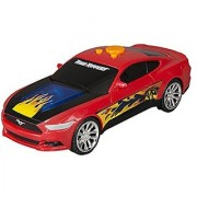 Toy State Road Rippers Warp Riders Ford Mustang Light & Sound Vehicle