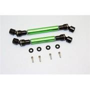 Axial SCX10 II Upgrade Parts (AX90047) Steel+Aluminium Center Shaft (S:118mm-128mm, L:130mm-140mm) - 1 Set Green