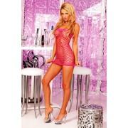 Dress Sexy Tube roz OS