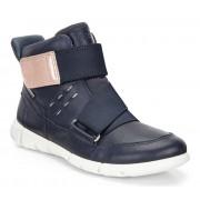 Sneakers casual copii ECCO Intrinsic (Mov / True Navy)