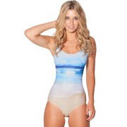Costum de baie intreg BlackMilk Fresh Ocean Beach