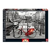 Educa 16018 - Amsterdam, Netherlands - 3000 pieces - Coloured Black & White Puzzle